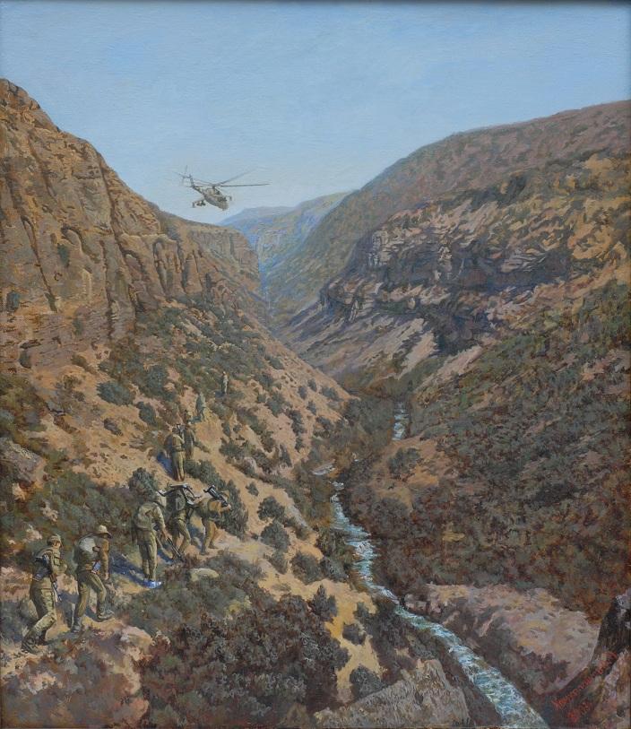 По горам афганским долго еще топать []