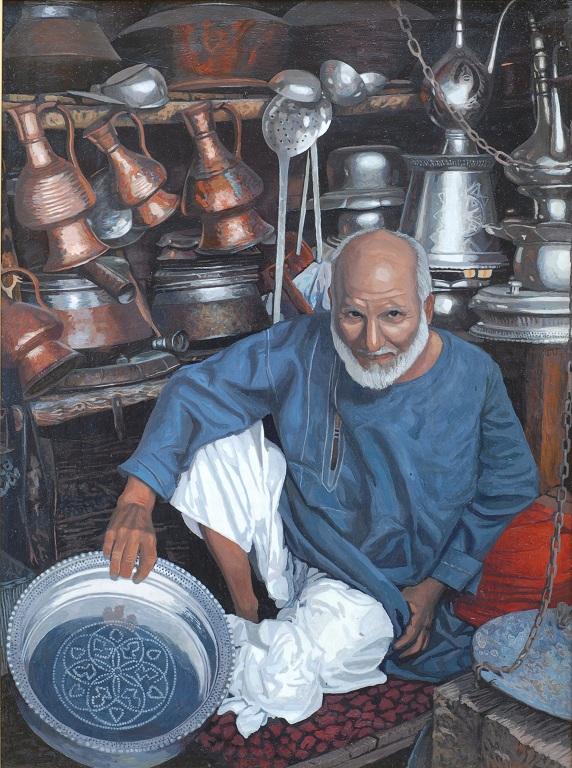 Продавец посуды []